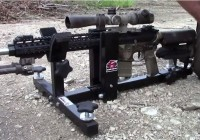 P3 Ultimate Gun Vise with Rest Attachment
