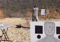 Kahr CT380 Range Test with P3 Ultimate Target Stands