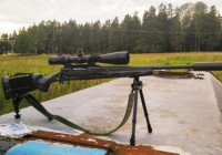 Savage Axis Rifle with P3 Ultimate Monopod
