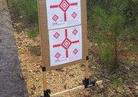 P3 Ultimate Target Stand at the Shooting Range