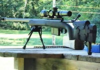 Savage 110 with P3 Ultimate Monopod