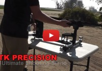 Shotgun Slug Test from P3 Ultimate Shooting Rest