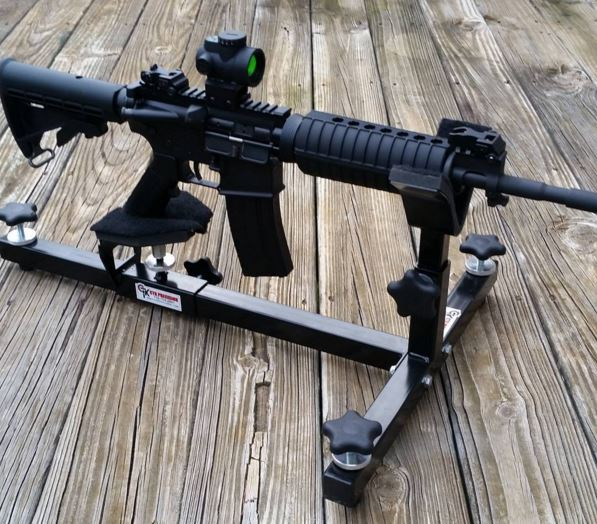 Windham Ar 15 On P3 Ultimate Shooting Rest Ctk Precision