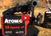 Atomic Ammunition 38 Special P 148 Grain Lead Hollow Point