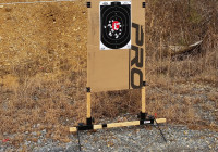 P3 Ultimate Target Stand at Range