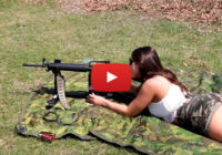 Julia Tests P3 Ultimate Shooting Rest with Colt AR-15