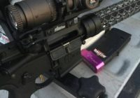 AR-15 Rifle with P3 Ultimate Shooting Rest
