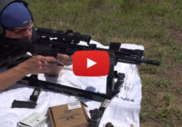 Wilson Combat AR9 Carbine from P3 Ultimate Shooting Rest