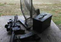 Universal Brass Catcher at Shooting Range