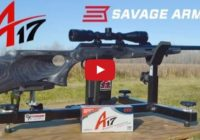 Savage A17 Target Thumbhole from P3 Ultimate Shooting Rest