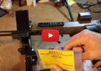 Sling Stud to Picatinny Rail Mod with P3 Ultimate Gun Vise