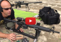 Windham Weaponry Dissipator M4 Accuracy Test from P3 Shooting Rest