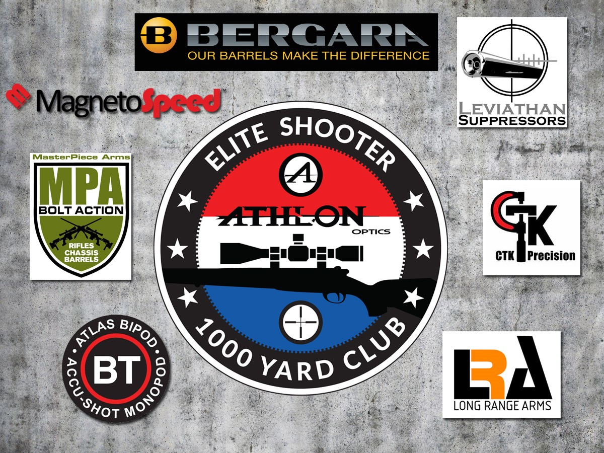 CTK Precision Sponsors Athlon Optics 1000 Yard Club Giveaway