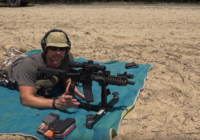 Daniel Defense MK18 AR-15 Pistol from P3 Ultimate Shooting Rest