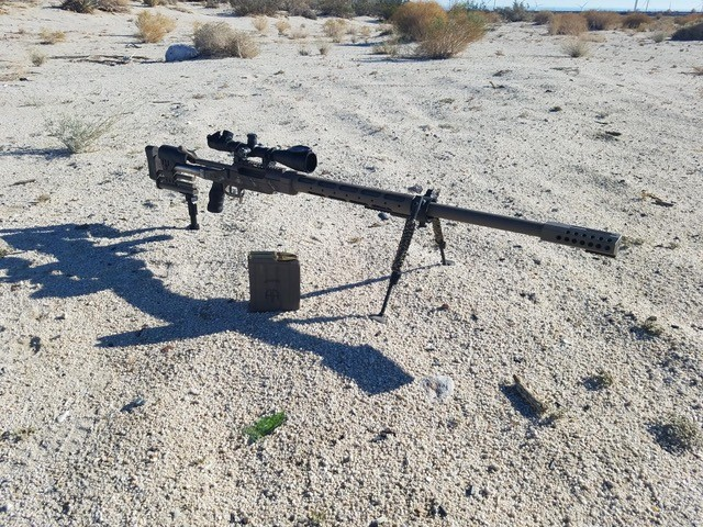 Ultimate Rail-Pod on CheyTac Rifle