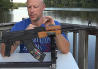 WASR-10 UF Rifle Review with P3 Shooting Rest